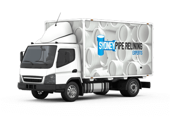 Pipe relining experts truck